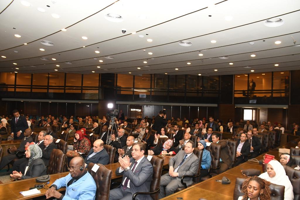 خلال افتتاح المؤتمر الدولي مصر والتنمية المستدامة في إفريقيا (5)