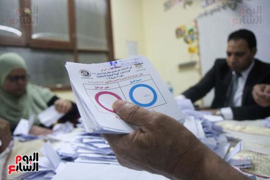 فرز اصوات الاستفتاء على التعديلات الدستورية (35)