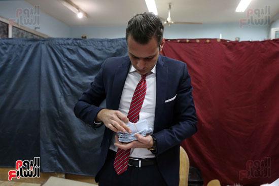 فرز اصوات الاستفتاء على التعديلات الدستورية (19)