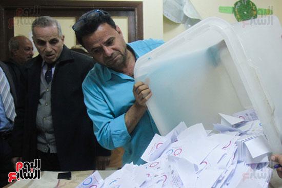 فرز اصوات الاستفتاء على التعديلات الدستورية (29)