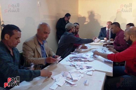 فرز أصوات الاستفتاء على التعديلات الدستورية فى ماسبيرو (2)