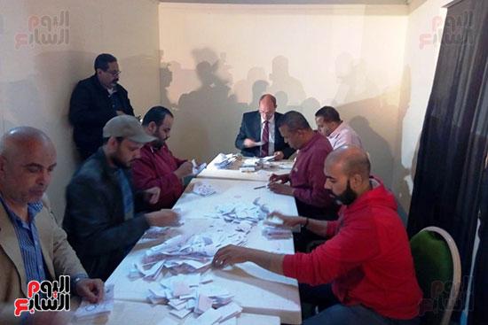 فرز أصوات الاستفتاء على التعديلات الدستورية فى ماسبيرو (5)