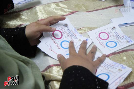 فرز اصوات الاستفتاء على التعديلات الدستورية (33)
