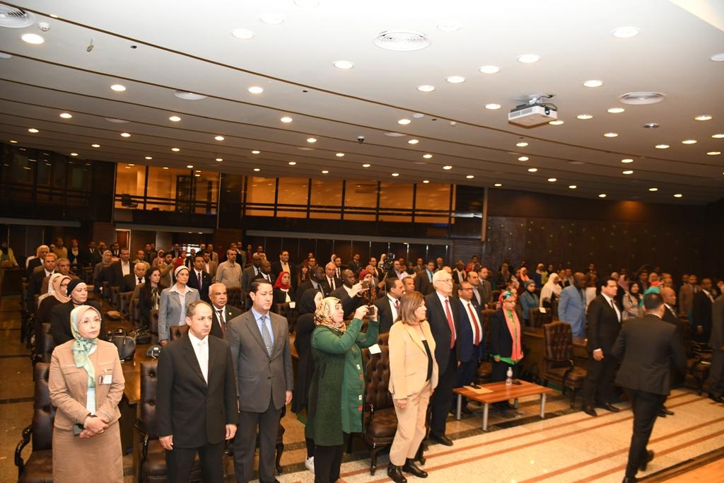 خلال افتتاح المؤتمر الدولي مصر والتنمية المستدامة في إفريقيا (6)