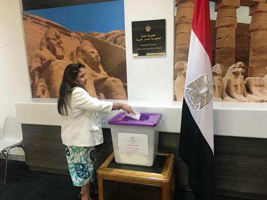 الاستفتاء على الدستور فى الخارج (33)
