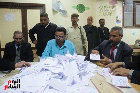 فرز اصوات الاستفتاء على التعديلات الدستورية (31)