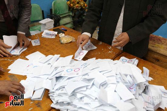 فرز اصوات الاستفتاء على التعديلات الدستورية (16)