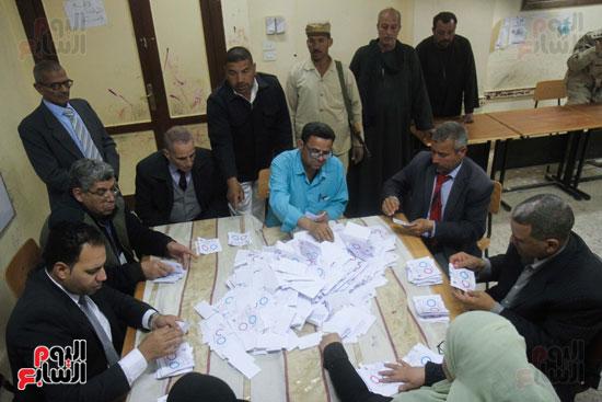 فرز اصوات الاستفتاء على التعديلات الدستورية (32)