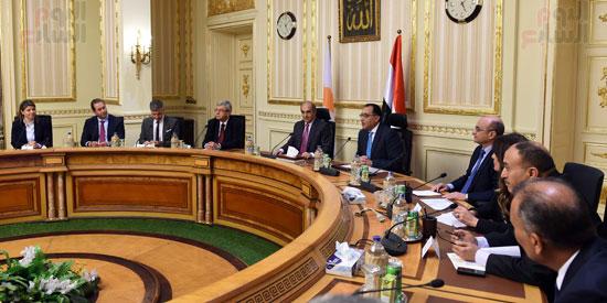 رئيس الوزراء يستقبل رئيس البرلمان القبرصى (5)