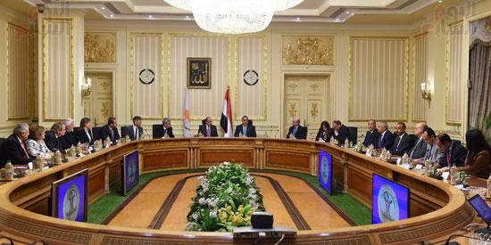 رئيس الوزراء يستقبل رئيس البرلمان القبرصى (3)