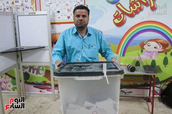 فرز اصوات الاستفتاء على التعديلات الدستورية (26)