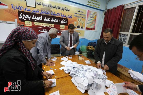 فرز اصوات الاستفتاء على التعديلات الدستورية (15)