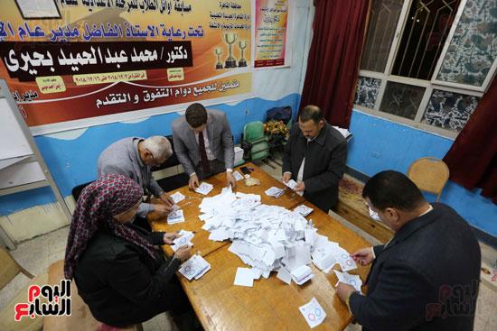 فرز اصوات الاستفتاء على التعديلات الدستورية (12)