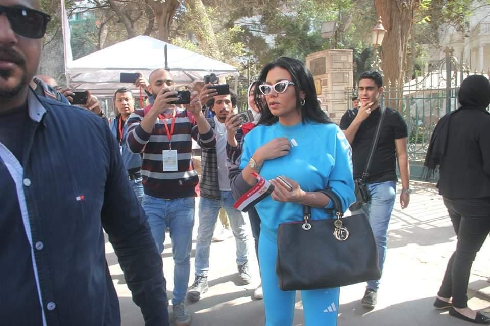 رانيا يوسف فى طريقها للجنة