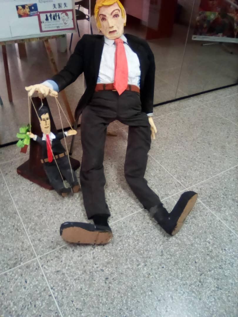 حرق ترامب فى احتفالات عيد القيامة فى فنزويلا