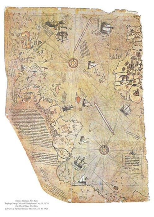 خريطة الأميرال العثمانى بيرى ريس