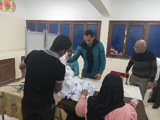 بدء أعمال الفرز في لجان الوادي الجديد بعد انتهاء موعد التصويت (3)