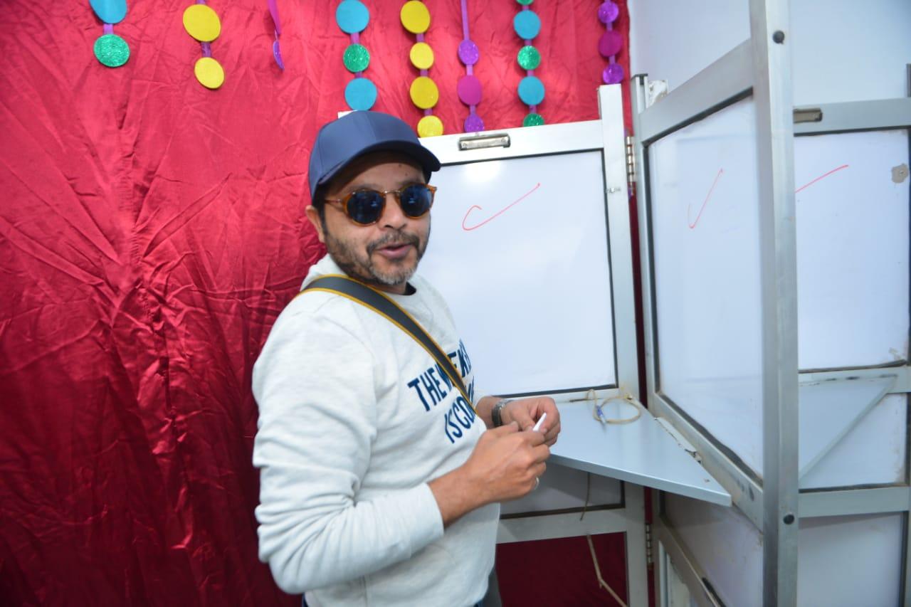 الفنان محمد هنيدى