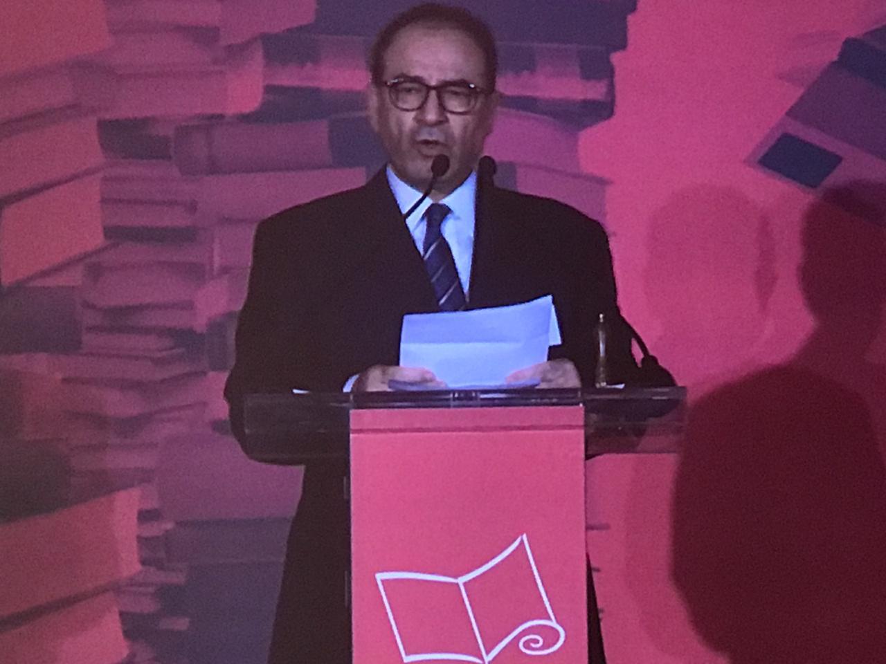 حفل إعلان الرواية الفائزة جائزة البوكر 2019 للرواية العربية (2)
