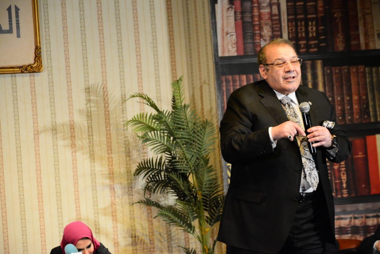 الدكتور حسن راتب رئيس مجلس أمناء جامعة سيناء (3)