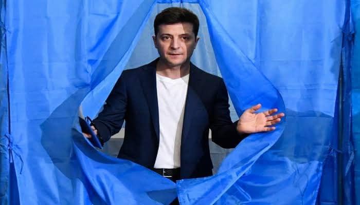رئيس أوكرانيا ممثلا قبل تولي الرئاسة