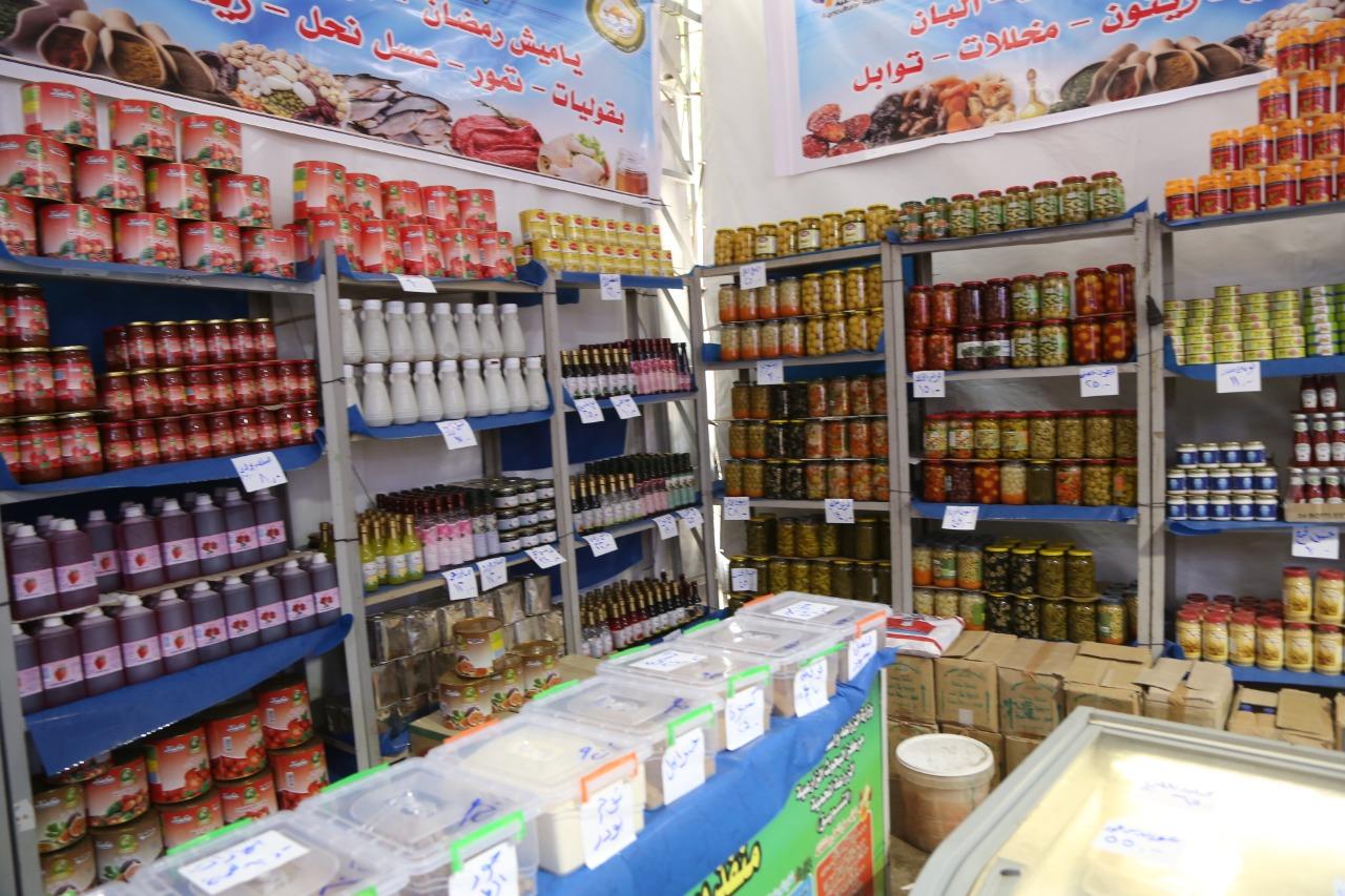 افتتاح معرض لبيع المنتجات الغذائية (1)