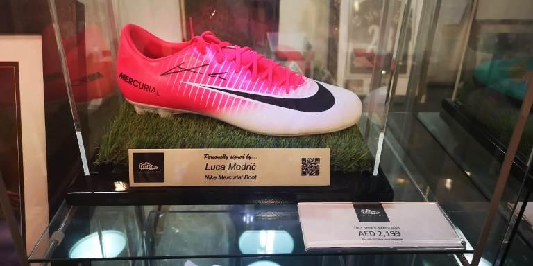 حذاء بتوقيع مودريتش