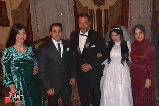 أحمد شيبة وماجد المصرى في كواليس مسلسل زلزال