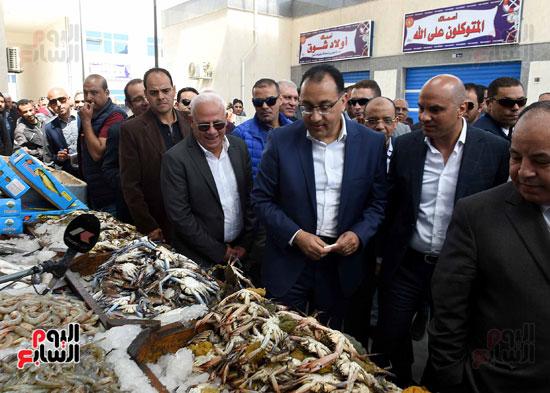 مصطفى مدبولى سوق السمك (3)