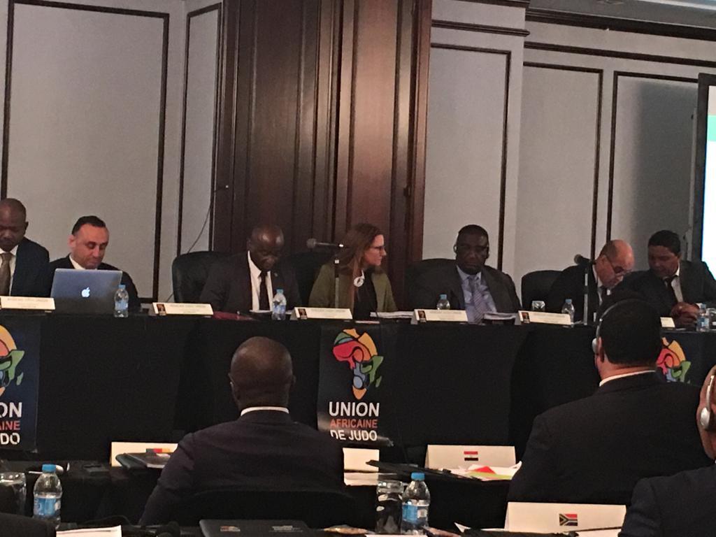 الجمعية العمومية للجودو الأفريقى