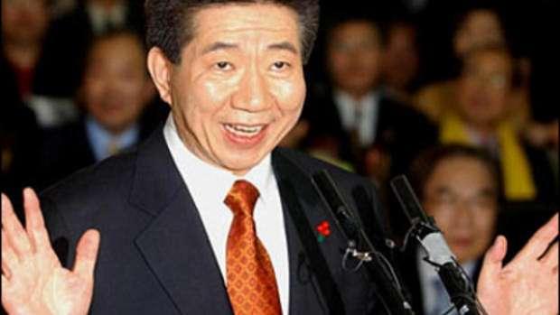 روه مون هيون رئيس كوريا الجنوبية