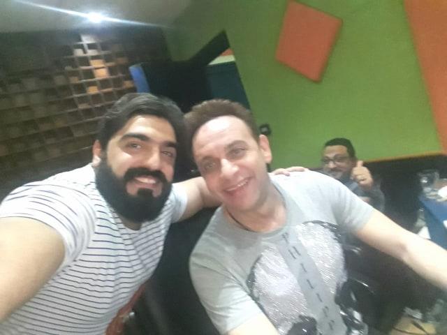 مصطفى قمر وأحمد البرازيلى
