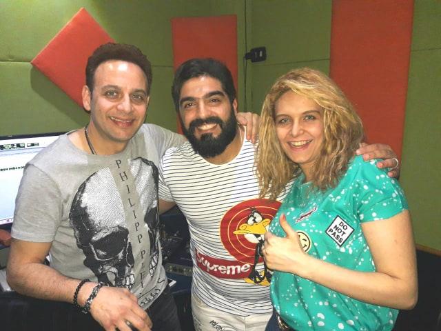 مصطفى قمر وأحمد البرازيلى وميرنا طارق