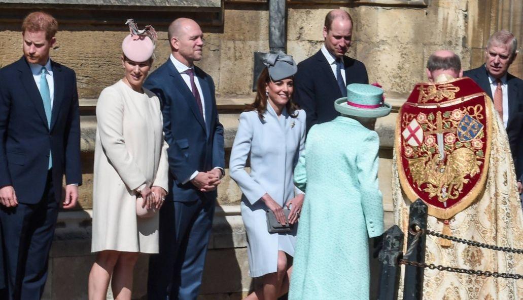 العئلة المالكة البريطانية
