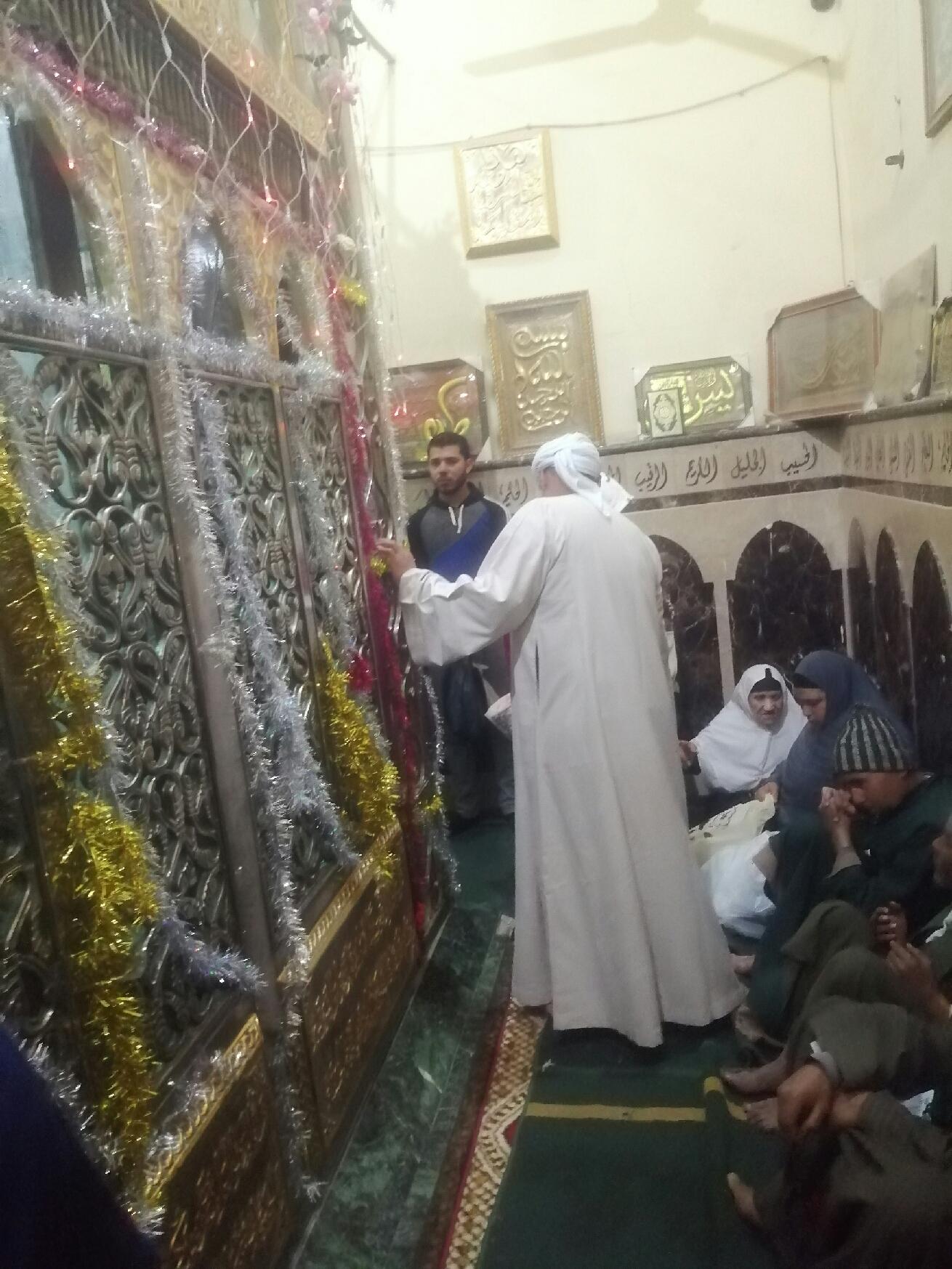 ضريح السيدة حورية حفيدة الإمام الحسين فى بنى سويف (6)