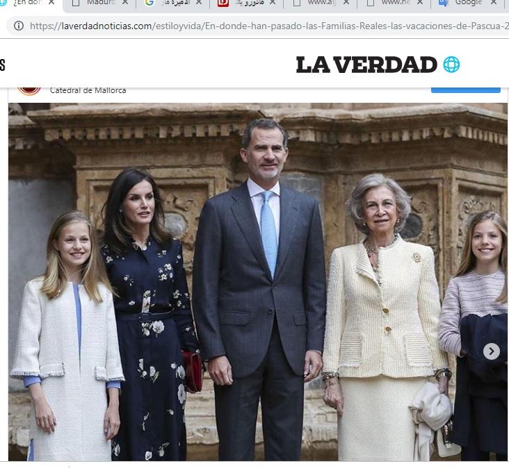 العائلة المالكة الاسبانية _1
