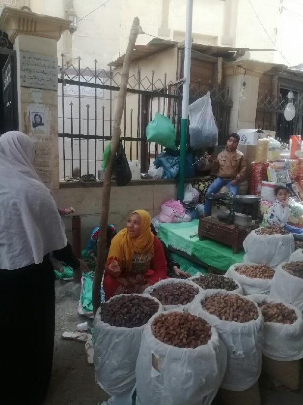 ضريح السيدة حورية حفيدة الإمام الحسين فى بنى سويف (2)