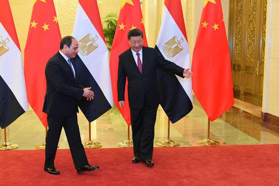 الرئيس السيسى ونظيره الصينى (3)
