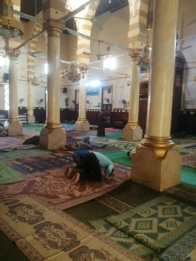 ضريح السيدة حورية حفيدة الإمام الحسين فى بنى سويف (4)