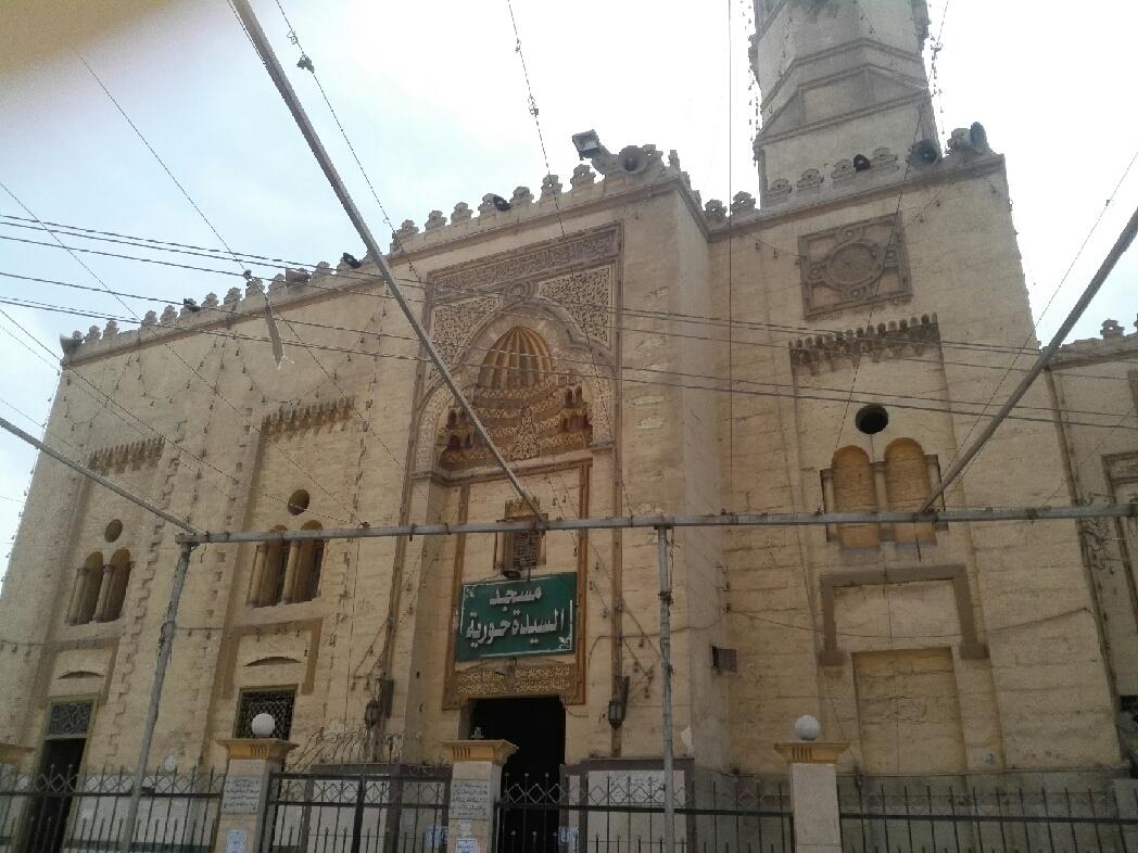 ضريح السيدة حورية حفيدة الإمام الحسين فى بنى سويف (3)
