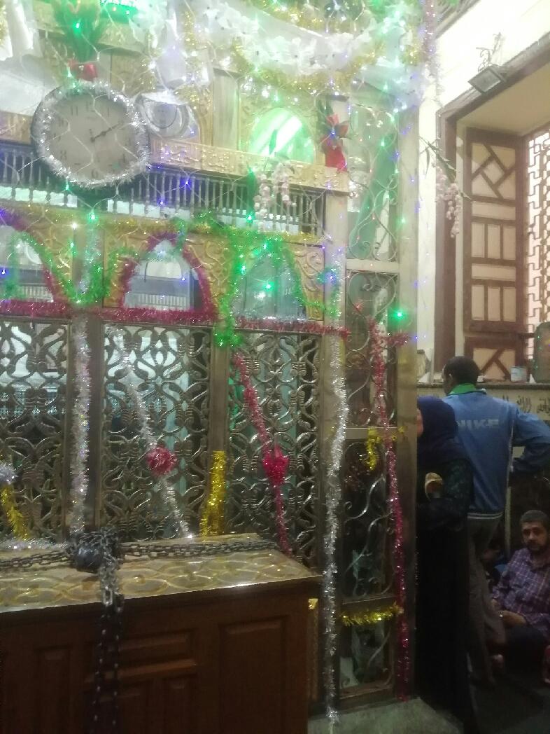 ضريح السيدة حورية حفيدة الإمام الحسين فى بنى سويف (5)