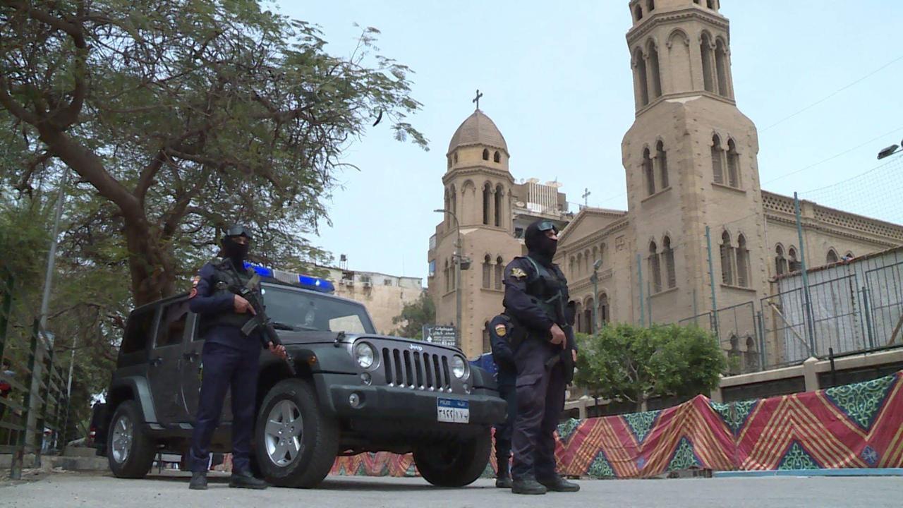 تأمين دور العبادة  برجال الشرطة