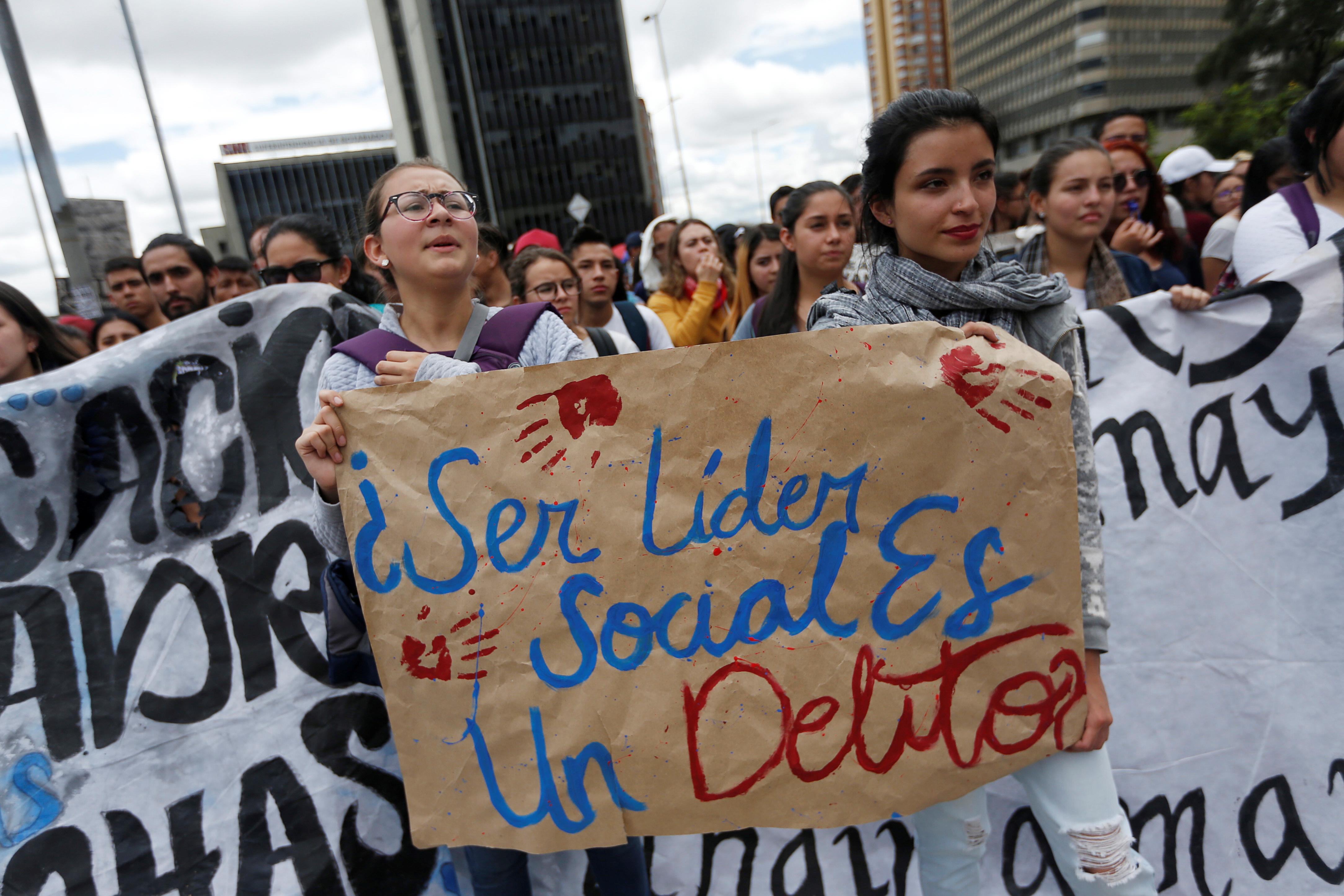 جانب من الاحتجاجات والعنف فى كولومبيا (3)
