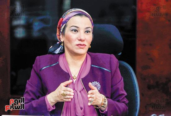 حوار اليوم السابع مع وزيرة البيئة (2)
