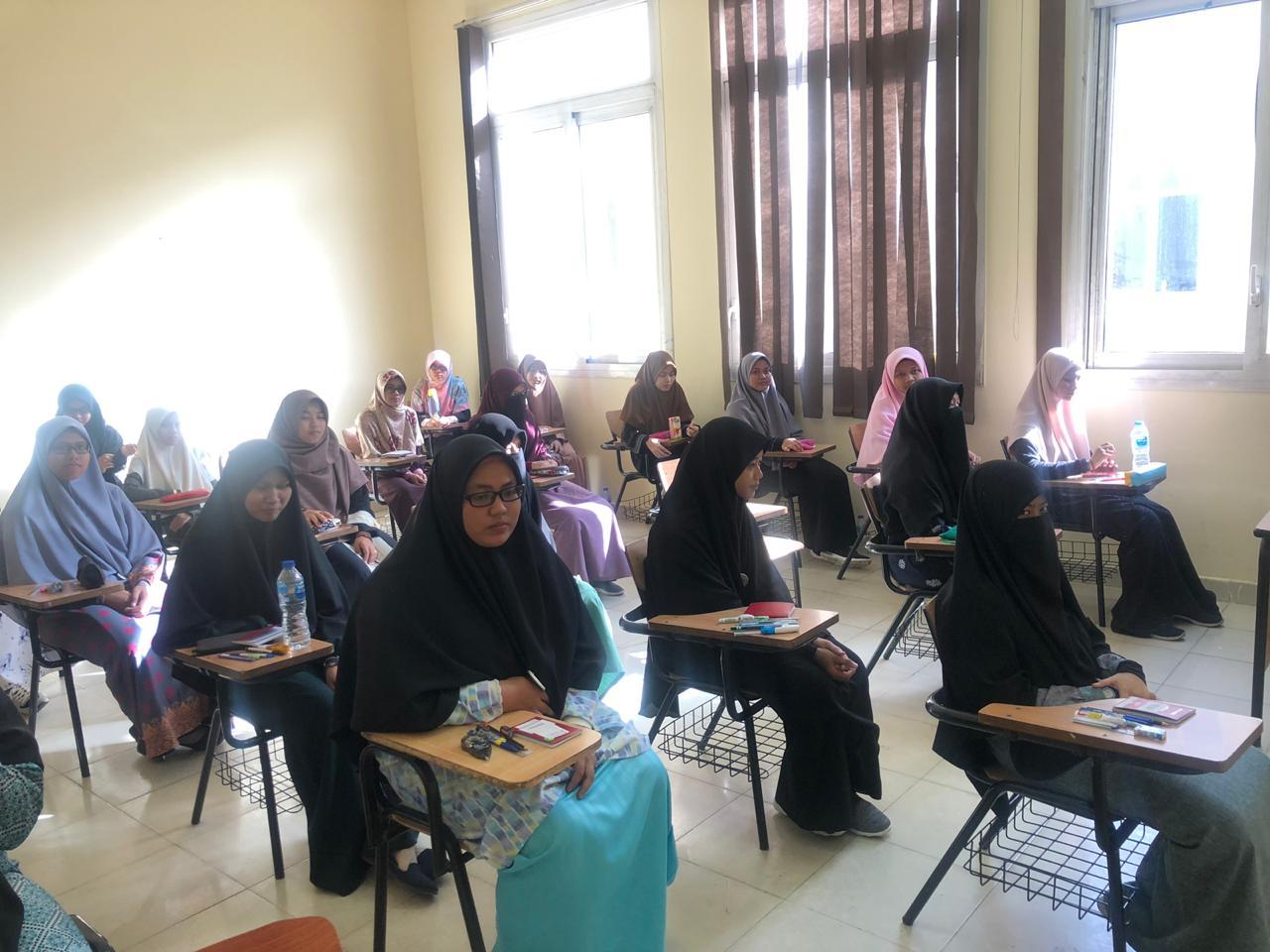 اختبار تحديد المستوى بمركز الشيخ زايد لتعليم اللغة العربية لغير الناطقين بها