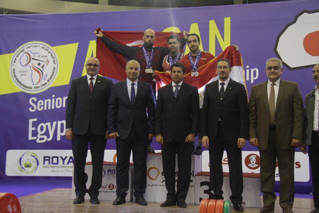 وزير الرياضة يتوج محمد إيهاب (3)