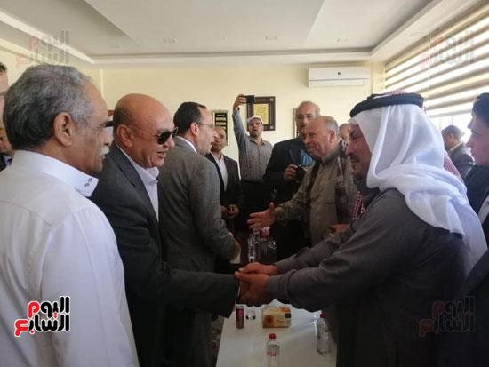 نائب وزير الزراعة ومحافظ شمال سيناء يطلقان موسم الصيد ببحيرة البردويل (5)