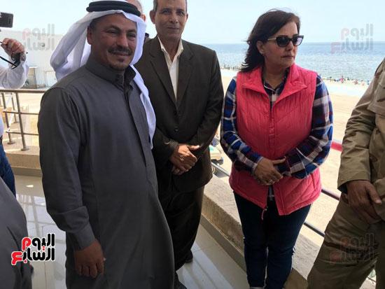 نائب وزير الزراعة ومحافظ شمال سيناء يطلقان موسم الصيد ببحيرة البردويل (2)