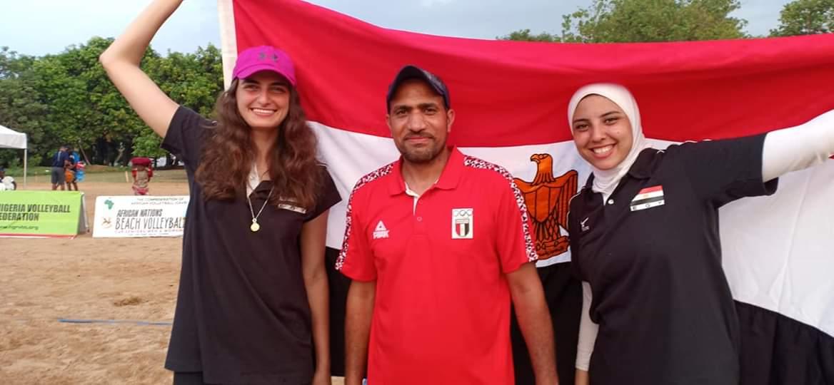 منتخب سيدات الكرة الطائرة الشاطئية  (2)