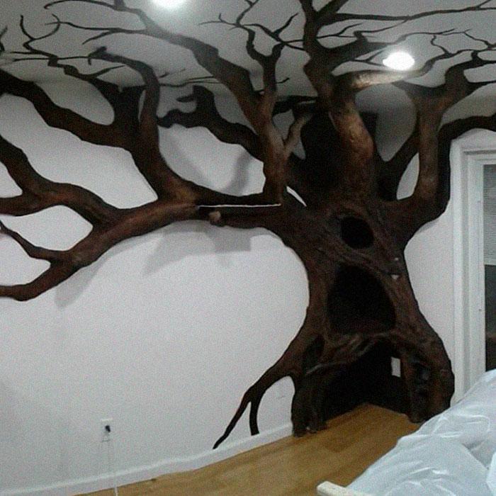 ديكور الشجرة فى المنزل (1)
